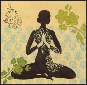 Image showing the hand gesture called Anjali mudra, prayer pose