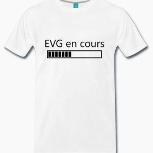 T-shirt EVG en cours