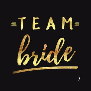 5 tatouages Team Bride