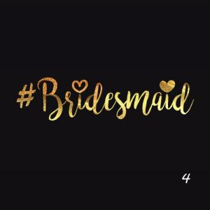 5 tatouages #Bridesmaid