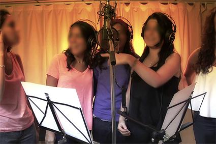 Enregistrer une chanson evjf