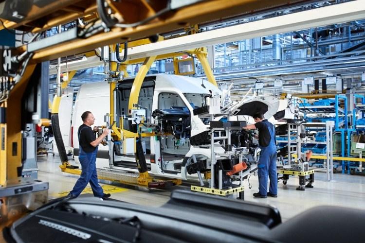 Mercedes-Benz Sprinter Werk Düsseldorf