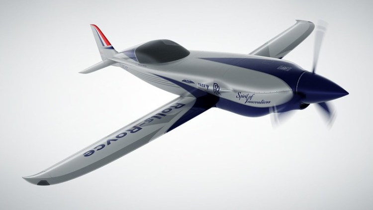 Rolls-Royce unveils all-electric plane targeting the record books-8