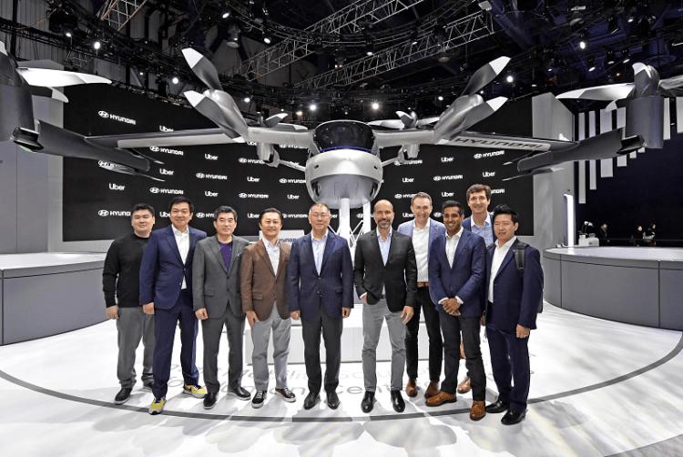 Hyundai Uber Aerial Ridesharing Partnership Ceremony-3