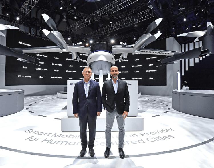 Hyundai Uber Aerial Ridesharing Partnership Ceremony-5