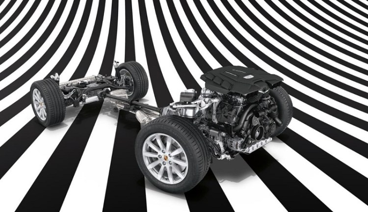 Porsche Cayenne Turbo S E-Hybrid Transverse Dynamics