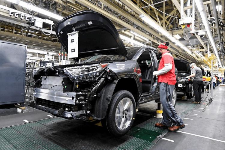 Toyota Kentucky Begins Production of Hot-Selling RAV4 Hybrid-4