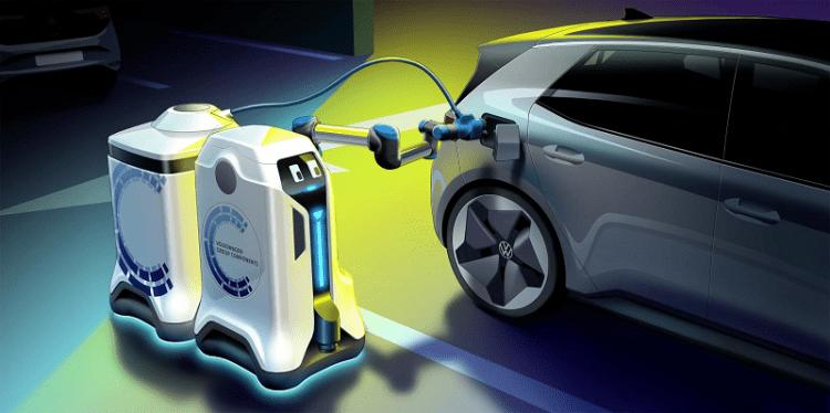 Volkswagen lets its EV-EVH charging Robots loose -2
