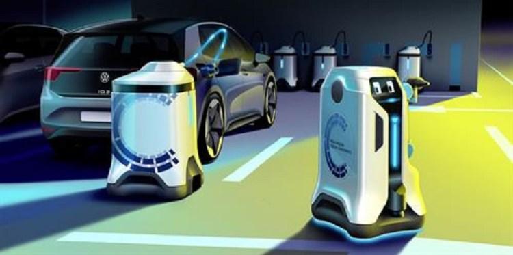 Volkswagen lets its EV-EVH charging Robots loose-3