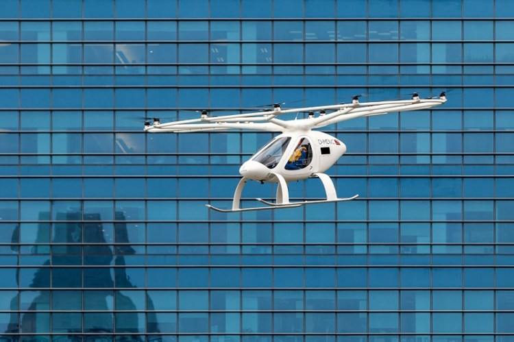 volocopter-at -URBAN AIR MOBILITY 2020