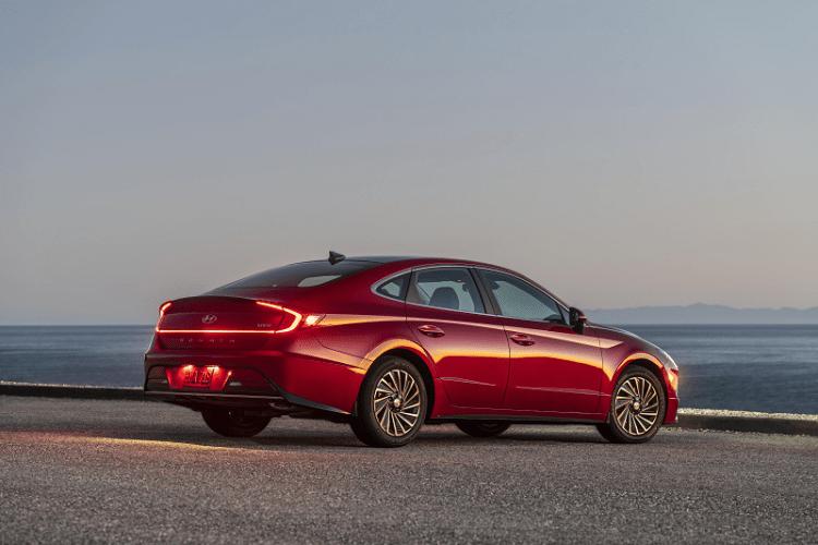 2020 Sonata Hybrid Exterior Highlights