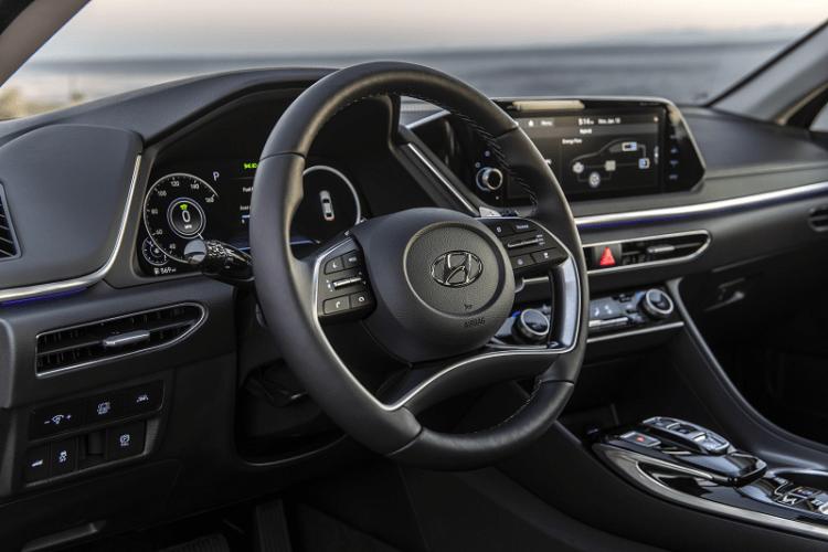 2020 Sonata Hybrid Interior Highlights