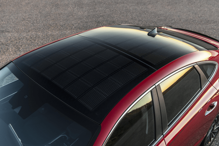 2020 Sonata Hybrid Solar Roof Pannel Highlights