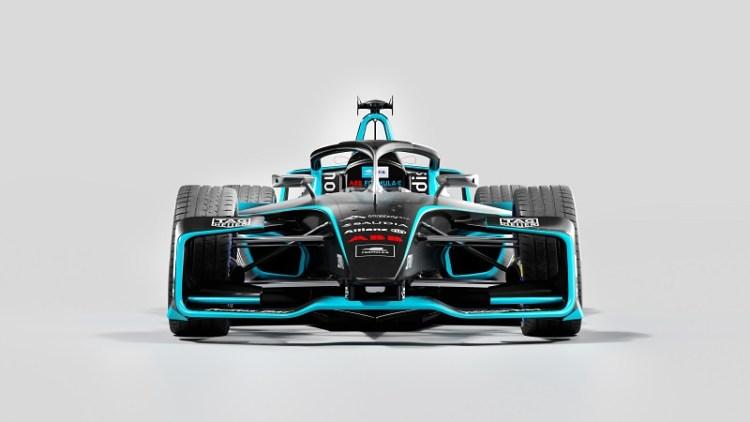 Formula E Reveals Gen 2 EVO World Championship Car Front Image