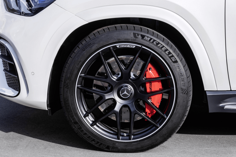 The New Elegant and Electrified Mercedes AMG GLE 63 S Coupe front wheel