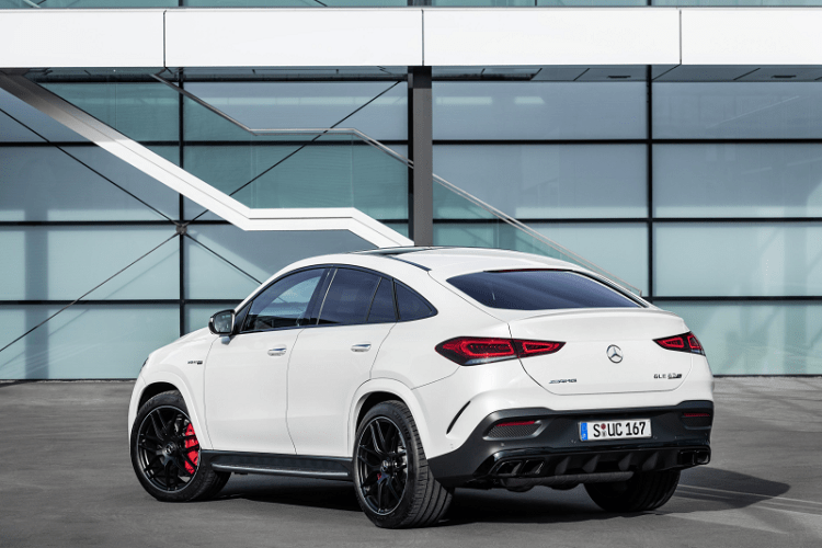 The New Elegant and Electrified Mercedes AMG GLE 63 S Coupe rear