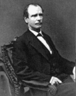 Amos Ackerman, United States Attorney General, appointed in 1869, first attorney general to serve as head of the Justice Department
