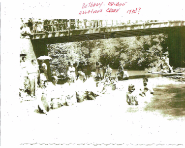 Baptizing at Allatoona Creek 1930's