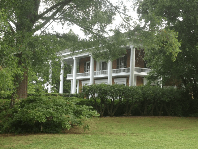 Pre Civil War home