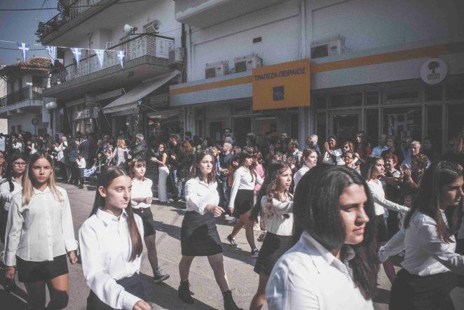 Ψαχνά Ευβοίας παρέλαση της 28ης Οκτωβρίου