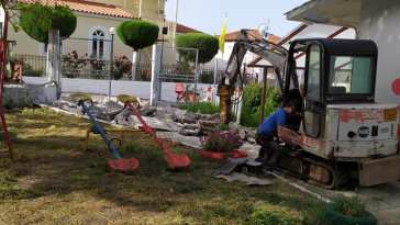 Μαντούδι: Ξεκίνησαν οι εργασίες στο νηπιαγωγείο