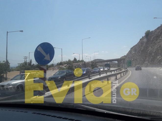 Εύβοια: Αυξημένη η κίνηση