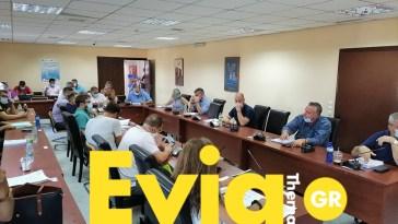 Απόλυτη τήρηση των μέτρων στο Δημοτικό Συμβούλιο του Δήμου Διρφύων Μεσσαπίων