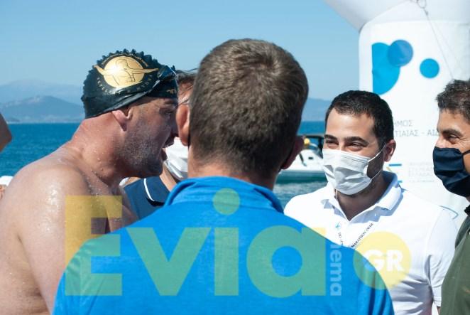 Με μεγάλη επιτυχία ολοκληρώθηκε ο Αυθεντικός Μαραθώνιος Κολύμβησης Πευκί Ευβοίας