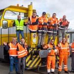 σιδηρόδρομος του εργοστασίου της Opel