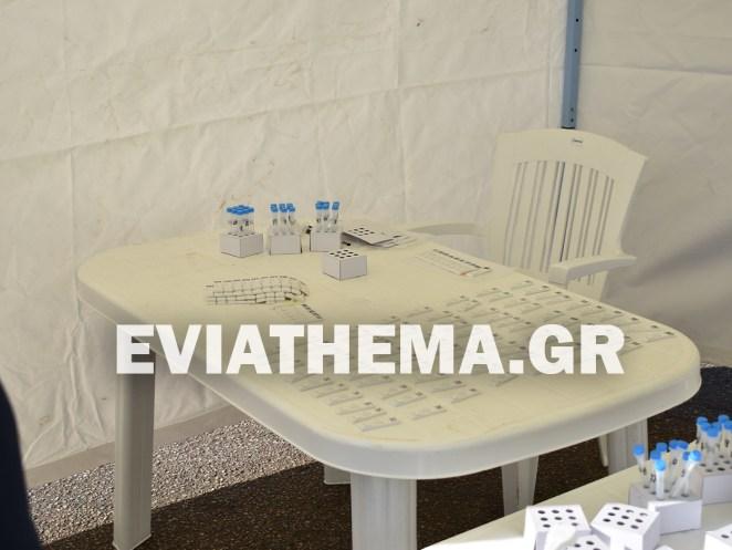 Από τις 9 η ώρα το πρωί το κλιμάκιο του ΕΟΔΥ βρίσκεται στην Παραλία της Νέας Αρτάκης