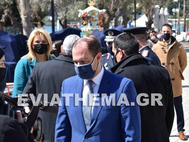Στην Χαλκίδα το πρωί της Πέμπτης εκλεγμένοι και εκπρόσωποι φορέων τίμησαν την Εθνική Επέτειο