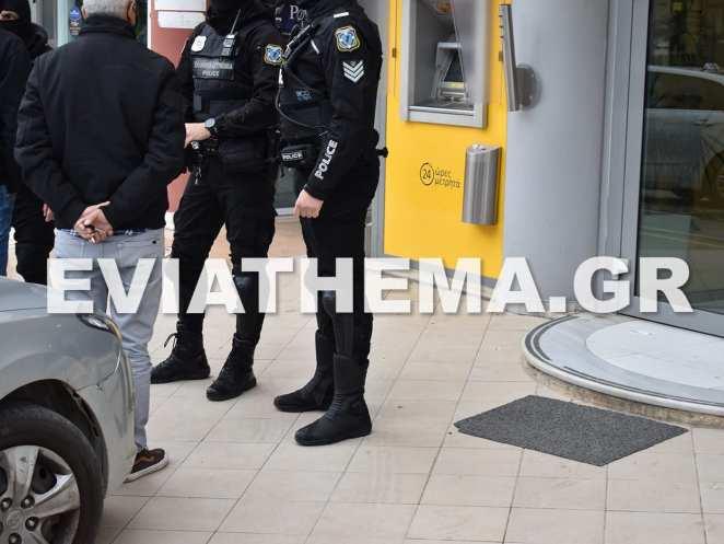 Ένοπλη ληστεία σημειώθηκε λίγο μετά τις 1 το μεσημέρι της Τρίτης στο Υποκατάστημα της Τράπεζας Πειραιώς στην Νέα Αρτάκη