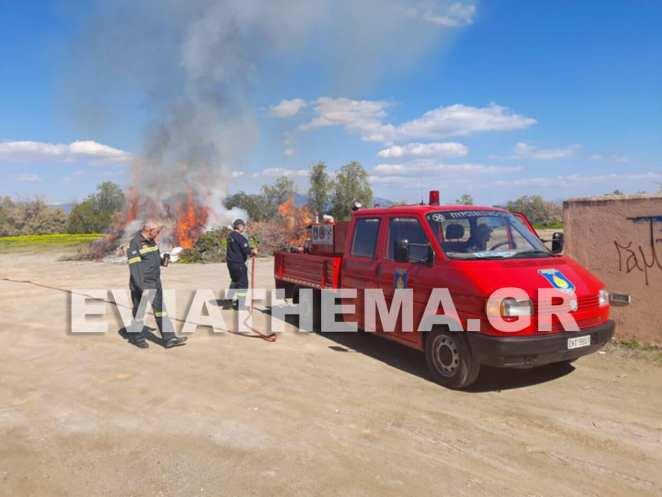 Αναστατώθηκαν οι κάτοικοι του Δήμου Ερετρίας όταν εχθές ακόμα και από την Άνω Βάθια