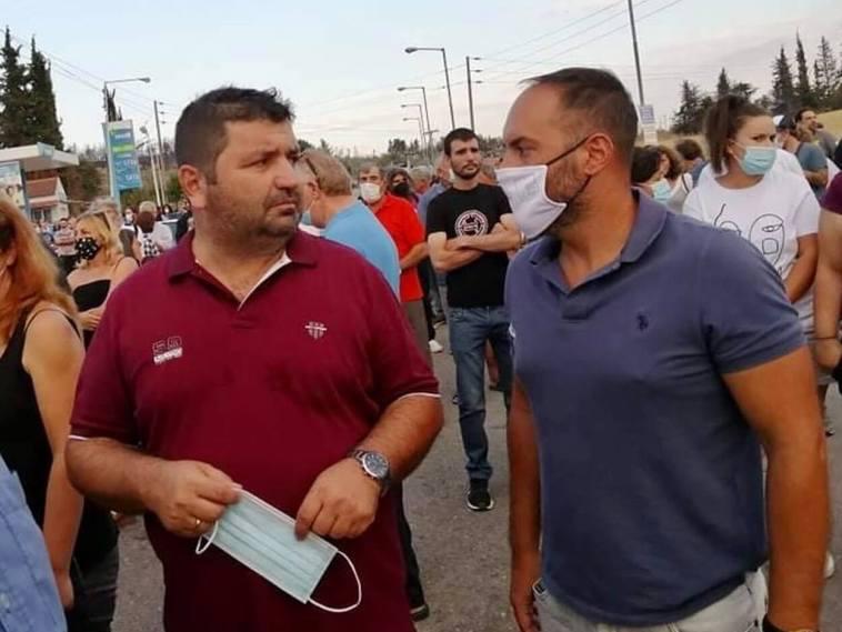 Μίλτος Χατζηγιαννάκης κινητοποίηση Στροφυλιά