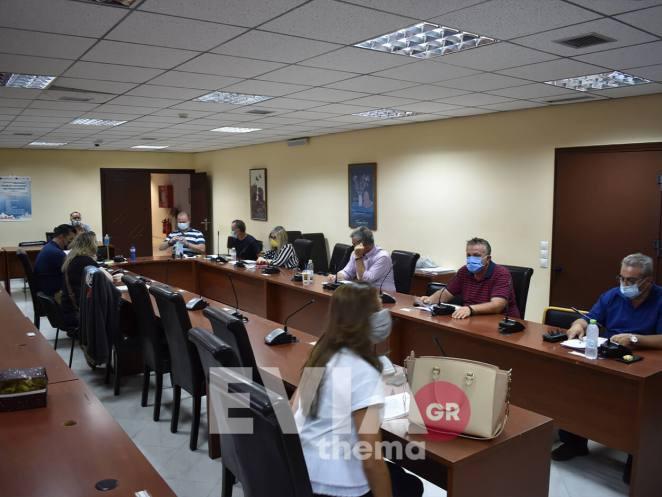 Δήμος Διρφύων Μεσσαπίων Δημοτικού Συμβουλίου φυσική παρουσία