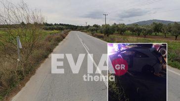 Ριτσώνα Τροχαίο ατύχημα ανατροπή οχήματος
