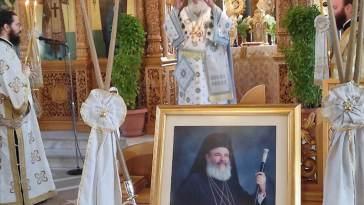 μνήμη του Οσίου Χριστοδούλου στην Χαλκίδα