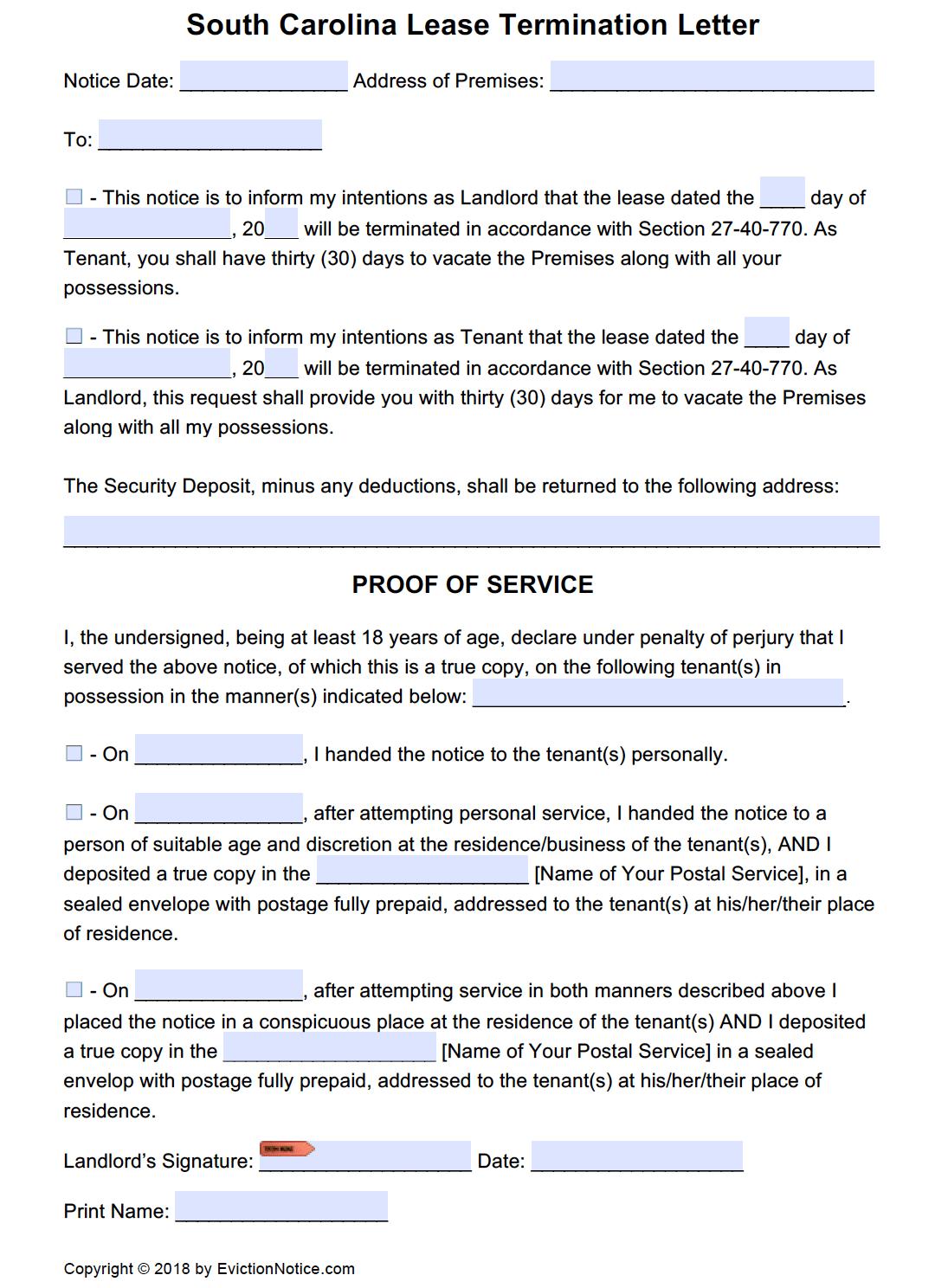 eviction notice pdf