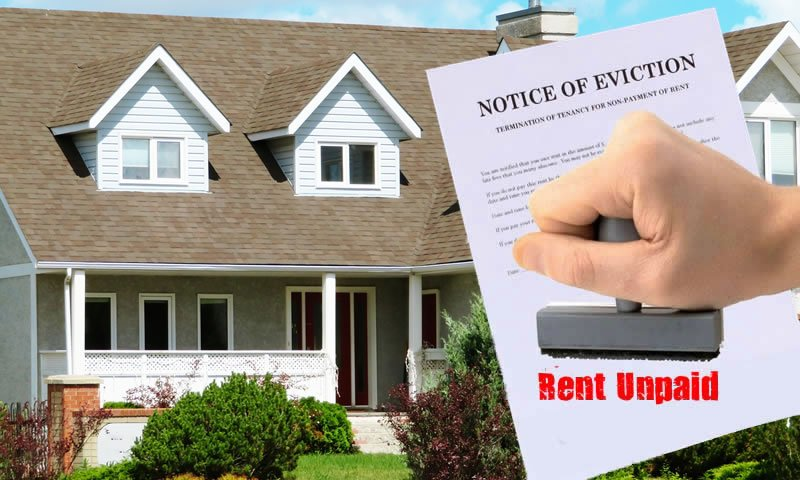 Eviction Notice for Unpaid Rent in San Antonio