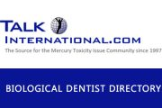 Talk International Mercury Safe Dentist Directory