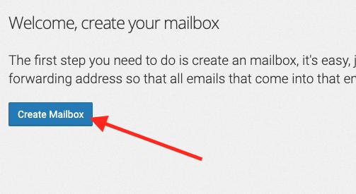 click Create Mailbox.