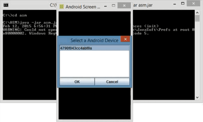 Android Screen Monitor - Mobile Screen