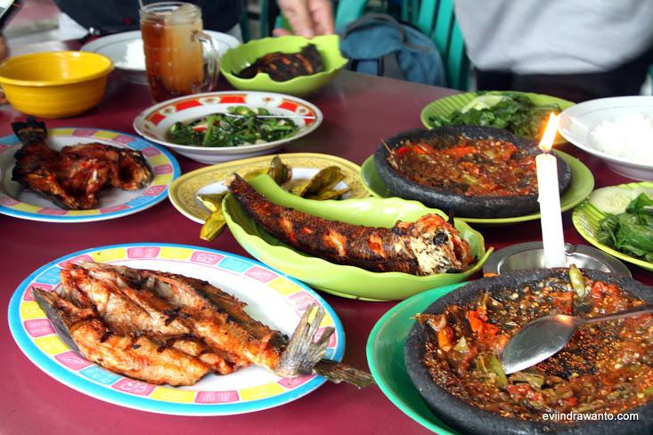 ikan bakar masak habang