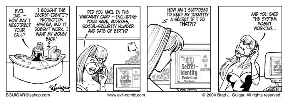 Secret Identity Protection