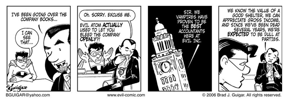 Evil Accountant