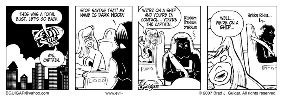 Dark Hood Meets Lightning Lady
