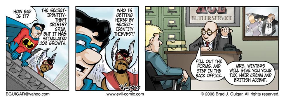 Secret Identity Theft