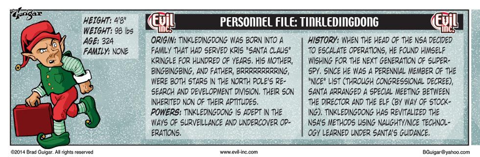 Personnel File: Tinkledingdong