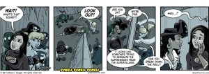 Break Down the Wall - Evil Inc by Brad Guigar