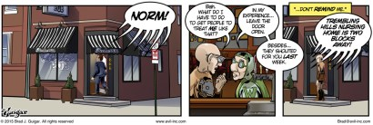 Norm! - Evil Inc by Brad Guigar 20150406